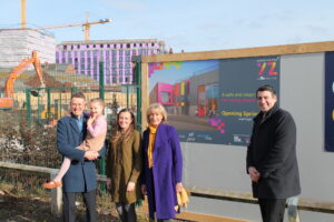 The Purslow Family pledge to support Warrington Youth Zone